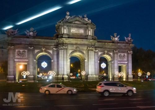 Puerta de Alcalá - Nocturna - Navidad 2015