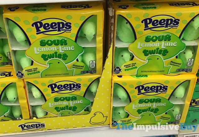 Peeps Sour Lemon-Lime Twist