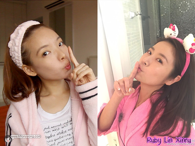 NoMakeUp look Ruby Lin