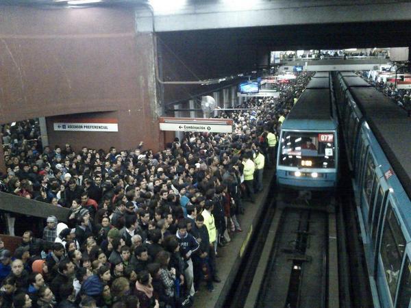 Metro Colapsado
