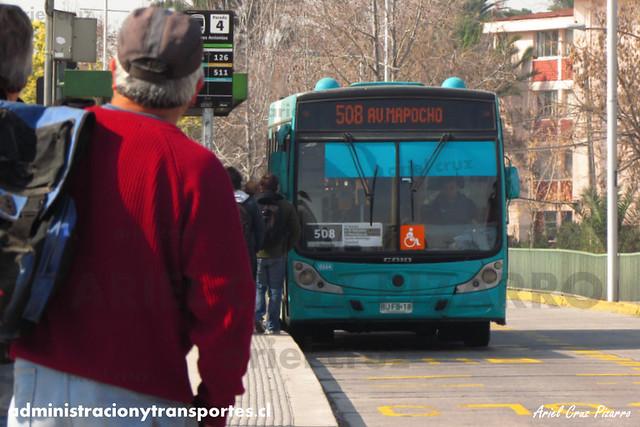 Transantiago - Metbus - Caio Mondego H / Mercedes Benz (BJFB18)
