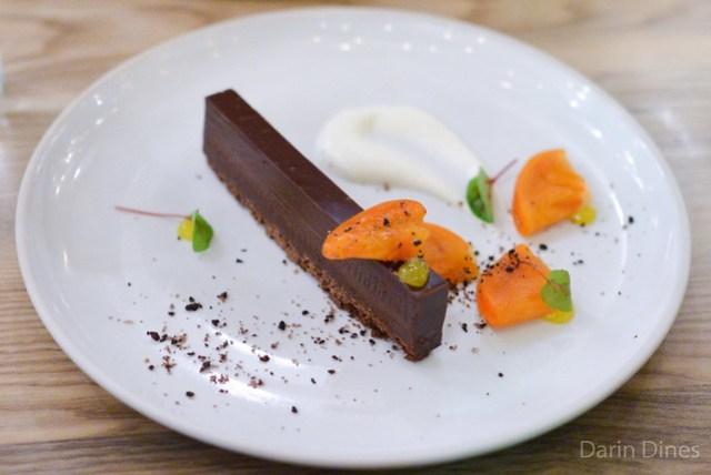 Chocolate Torte Persimmon, Olive Sable, EVO Jam