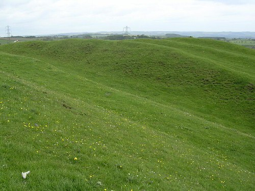 The Vallum at Down Hill