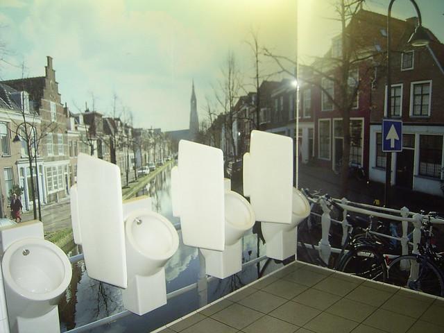 Schiphol Airport Bathrooms