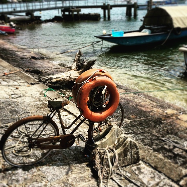 Bicycle on the Isola Bella
