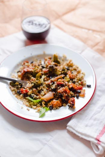 Roasted Vegetables and Beans