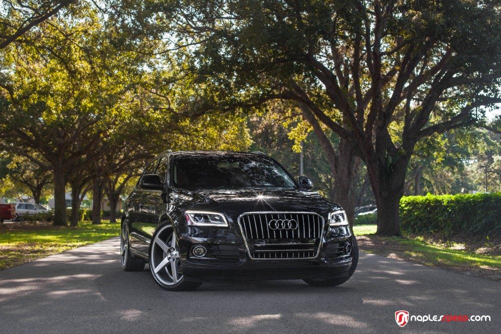 Audi Q5 on XO Luxury Miami Wheels by Naples Speed