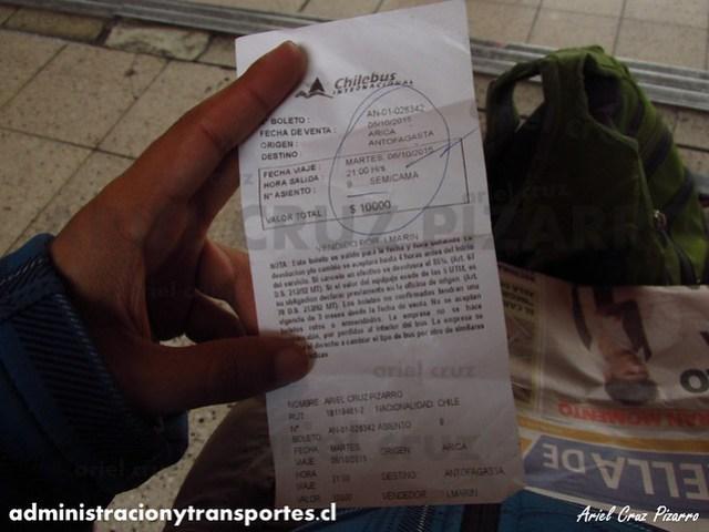 Pasaje Chilebus Internacional - BDYD57