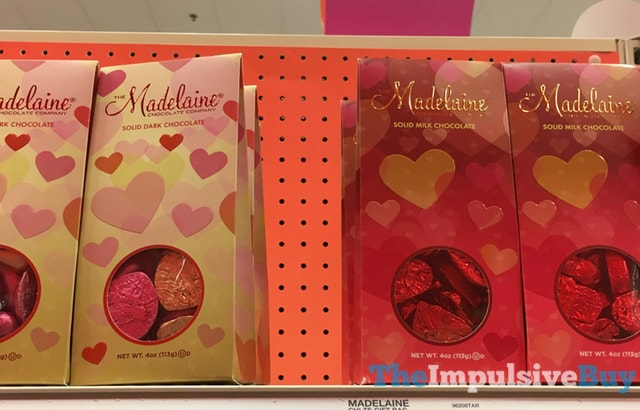 The Madelaine Chocolate Company Solid Dark Chocolate and Solid Milk Chocolate