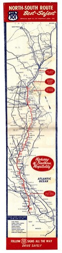 Highway 301 Map Whole