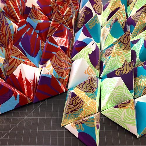 Screen printed sculptures