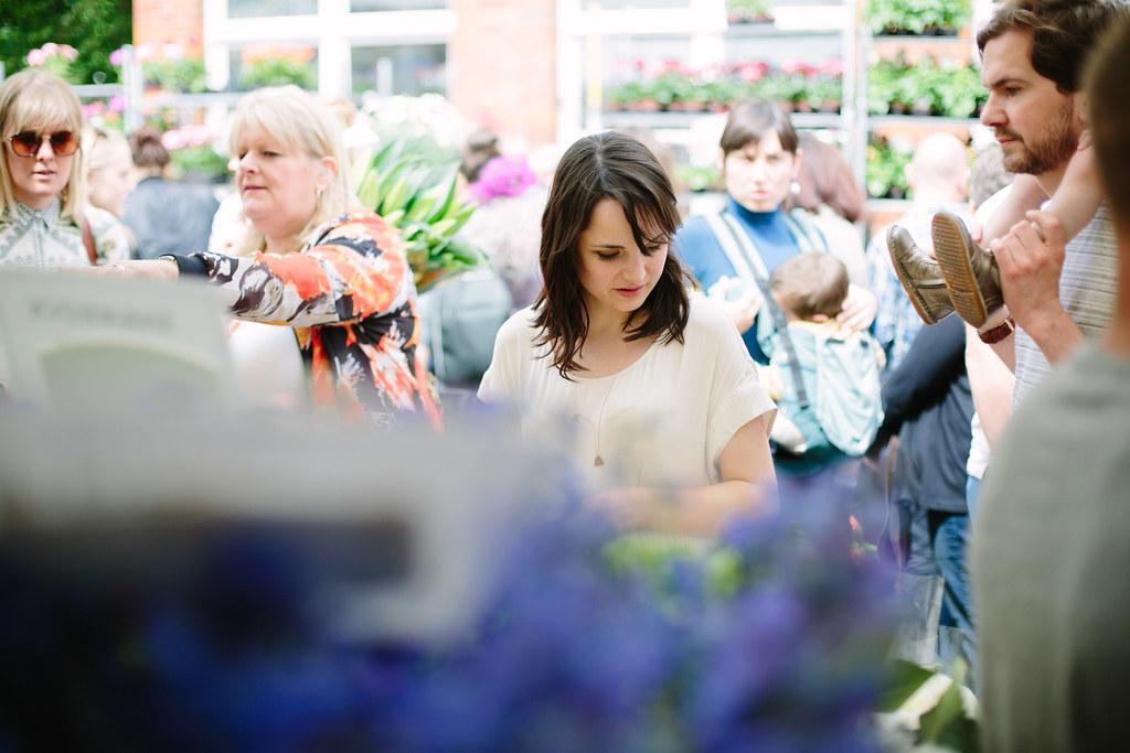 blues flower market