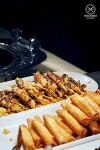 Sydney Food Blog Review of Cafe Mix, Shangri La: Satay Sticks