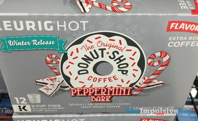 The Original Donut Shop Coffee Winter Release Peppermint Bark K-Cup