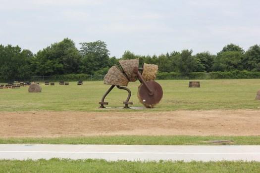 Tom Otterness Makin' Hay sculpture