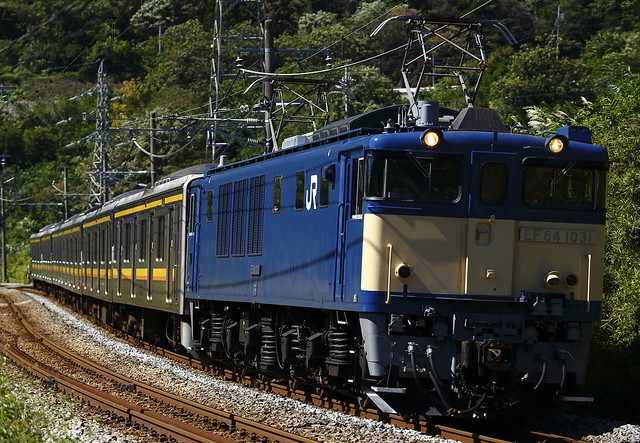 EF64-1031 + Series 205 for Nanbu-Line