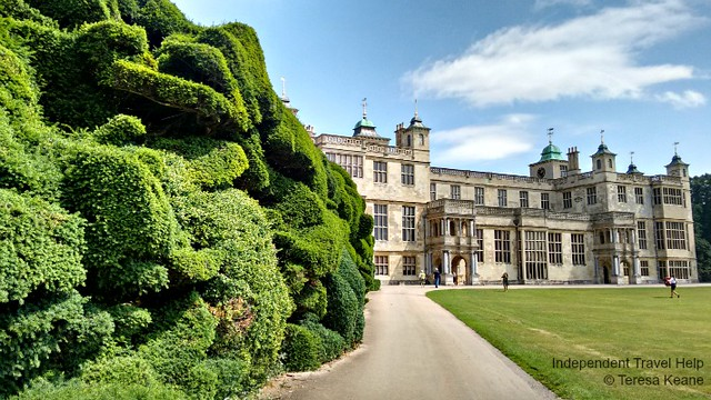 Audley End House and garden