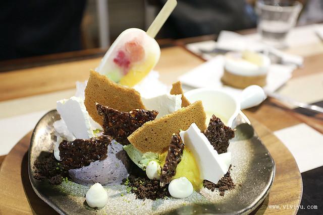 台中,咖啡,小梗甜點咖啡,甜點,美食,蛋糕 @VIVIYU小世界