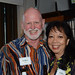 Bruce Gordon and Jennifer Sabas
