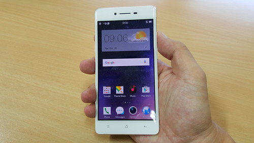 User Interface ของ OPPO R7 Lite