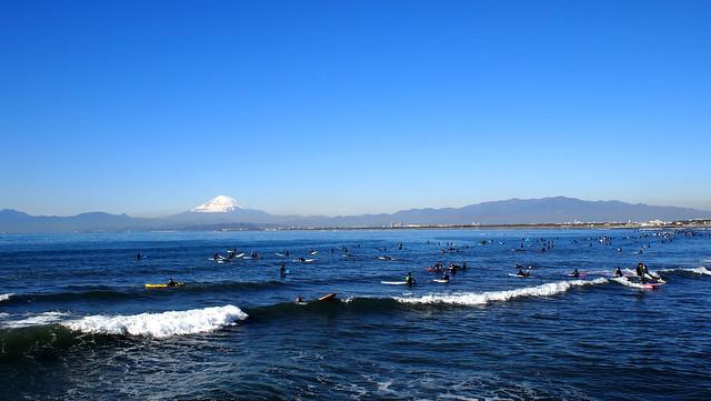 湘南と富士山