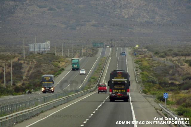 Cruzamiento de Cruz del Sur (Perú) - Ruta 5 Norte Chile