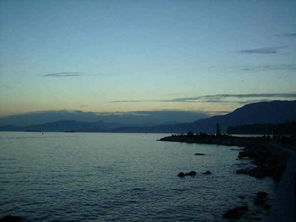 English Bay in the evening 2