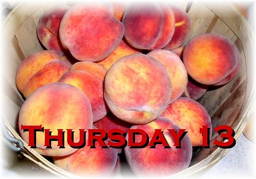 Thursday Thirteen Peaches