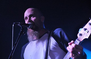 Nick Oliveri of Mondo Generator live at Voodoo, Belfast, 25 November 2015