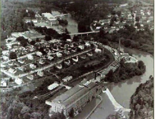 Aerial View of Pacolet Mill No. 3