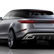 Another lovely rear view #sketch of the new #RangeRover #Velar. See more on http://formtrends.com/range-rover-velar.