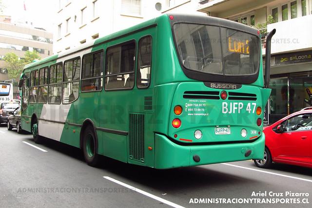 Transantiago - Buses Vule - Busscar Urbanuss Pluss - Mercedes Benz (BJFP47)