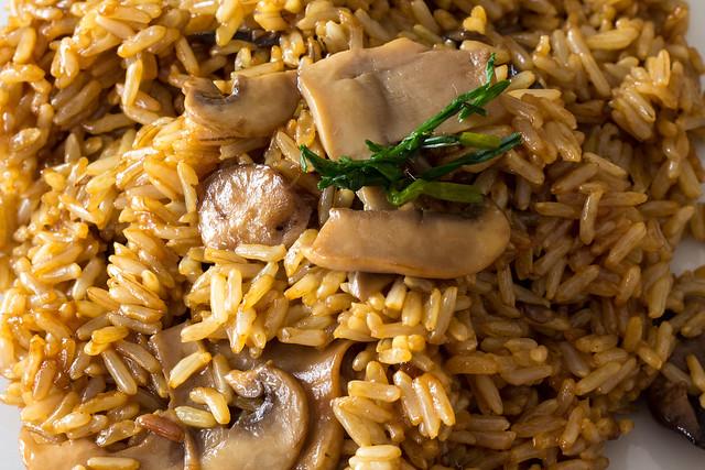 arroz integral olla presion