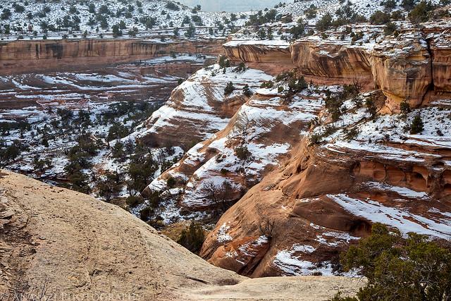 Snow & Sandstone