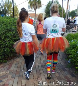 Backside of Turkey Trot Tutus