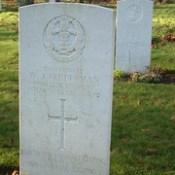Private W J Prettyman Middlesex Regiment & Labour Corps 1918.