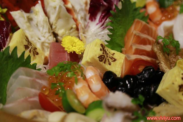 YANCO 漾客日式料理,內湖禮客,內湖美食,台北美食,干貝漢堡,漾客日式料理,豪華帝王蟹海鮮丼,馬卡龍壽司 @VIVIYU小世界
