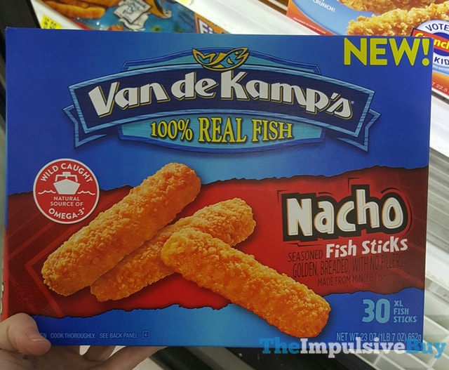 SPOTTED ON SHELVES: Van de Kamp's Nacho Fish Sticks