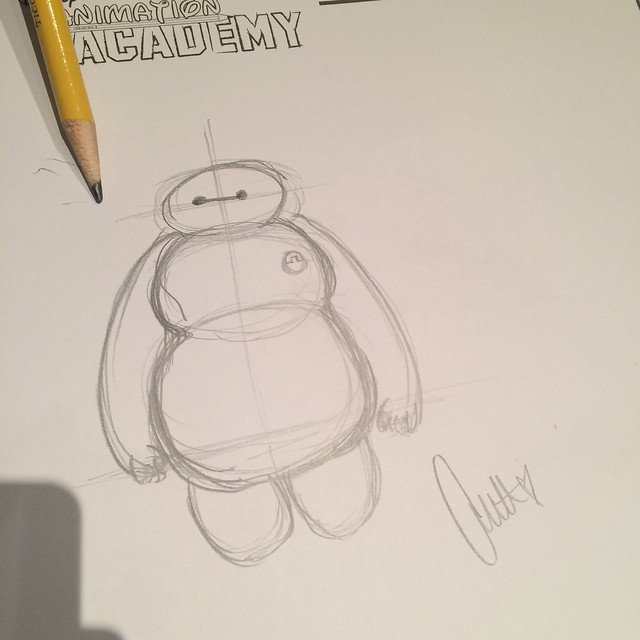 Drawing Baymax