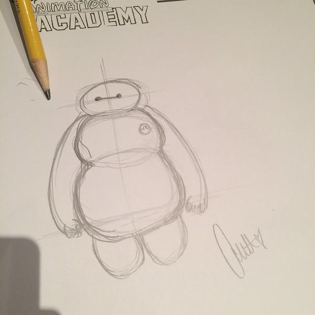 Drawing Baymax