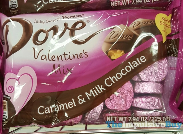 Dove Valentine's Mix Caramel & Milk Chocolate