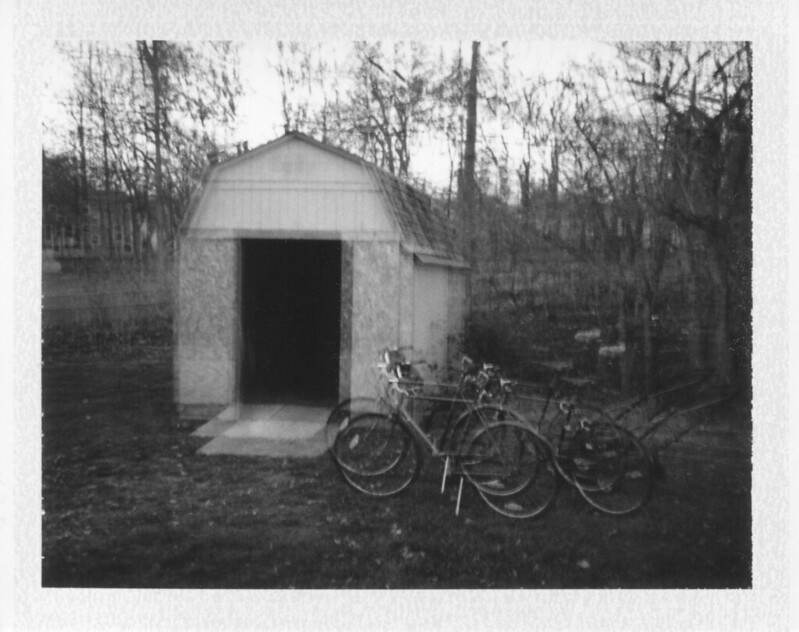 Double exposed shed
