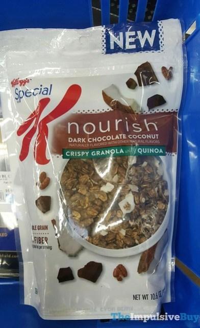 Kellogg's Special K Nourish Dark Chocolate Coconut Crispy Granola with Quinoa