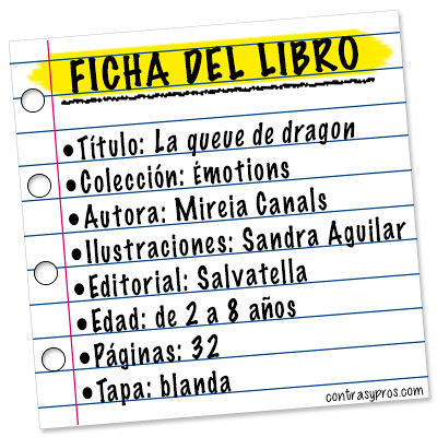 Ficha libro La queue de dragon