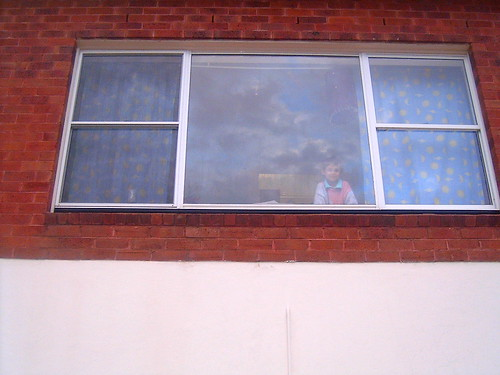 Looking out the muse's window