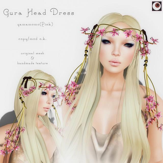 *NAMINOKE*Gaura Hair Dress Pink