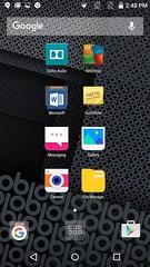 Home screen ของ obi worldphone sf1