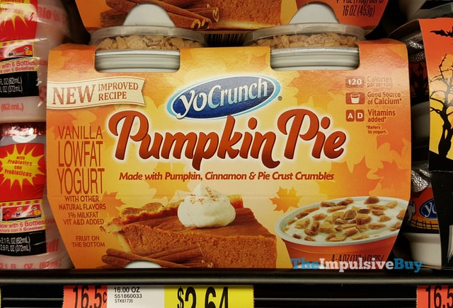 YoCrunch Pumpkin Pie Yogurt (Improved Recipe)