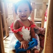 Kay ninang muna si aki 😂 Tuturuan ko na to' ng kalokohan 😂 @nicole.estanislao.