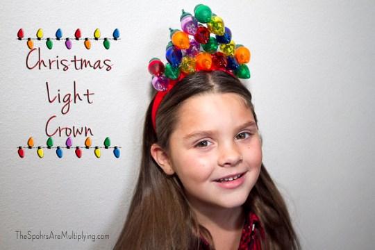 Christmas Light Crown